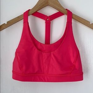 Lululemon Stash It Sports Bra Pink 6